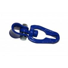 Kluzný třmen otočný 45° 7/8 modrý