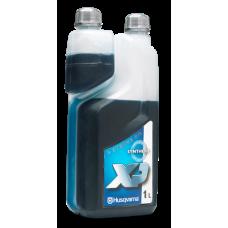 Dvoutaktní olej Husqvarna XP Synthetic 1L s odměrkou
