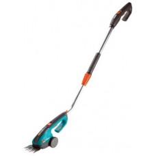 Gardena akumulátorové nůžky na trávu ClassicCut s násadou - sada